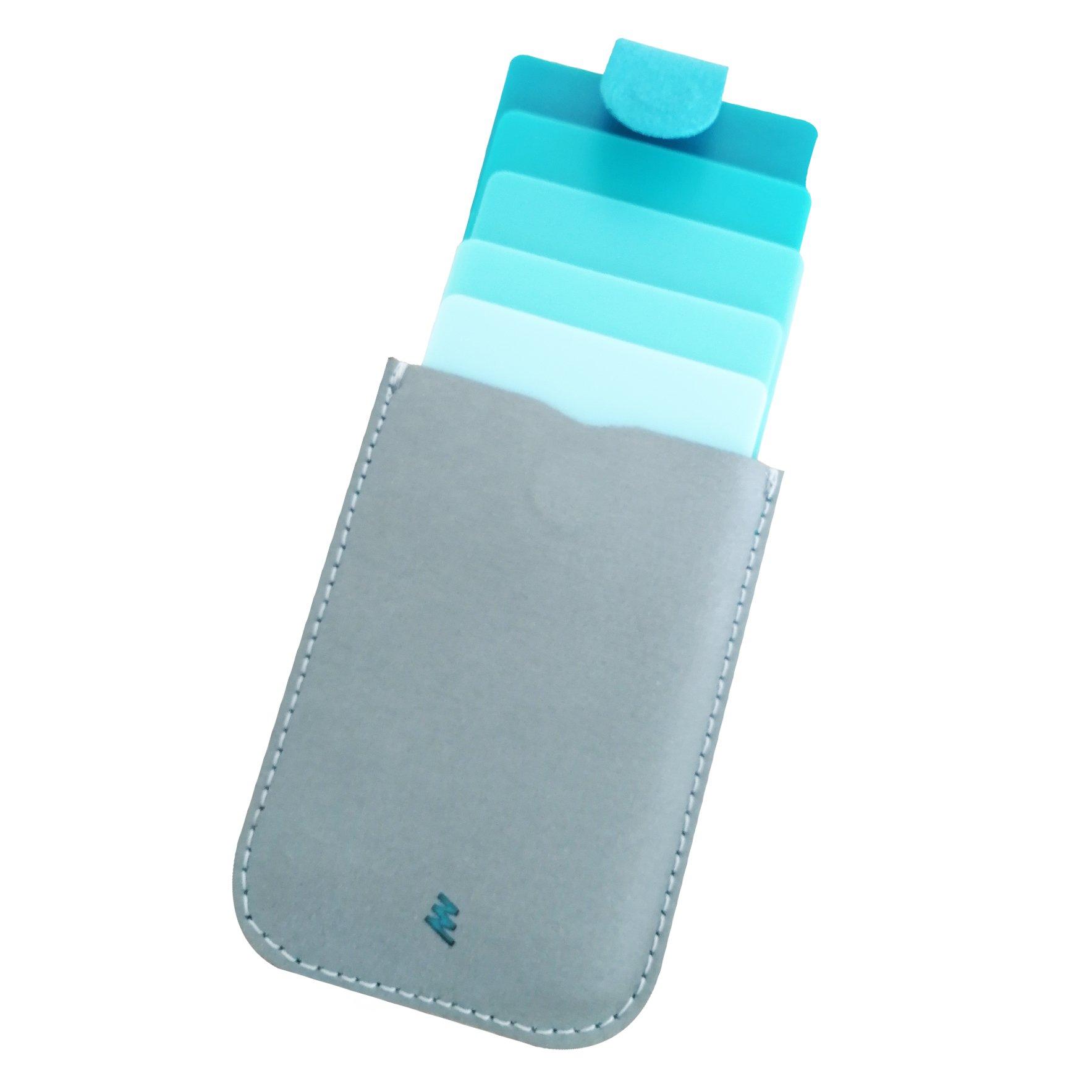 Dash Aqua Grey (Super Fiber)